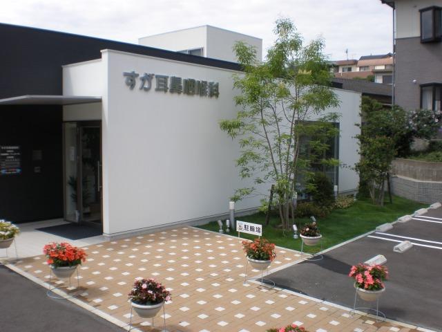 すが耳鼻咽喉科(福岡市東区)植栽工事